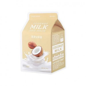 A'Pieu - Milk One Pack #Coconut Milk - Mleczna maska