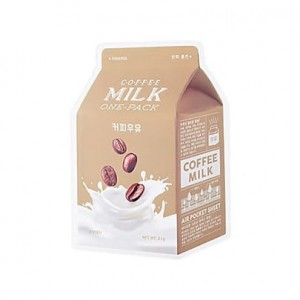 A'Pieu - Milk One Pack #Coffee  - Mleczna maska