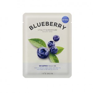 It's Skin - The Fresh Mask Sheet Blueberry - Rewitalizująca maska do twarzy w płachcie